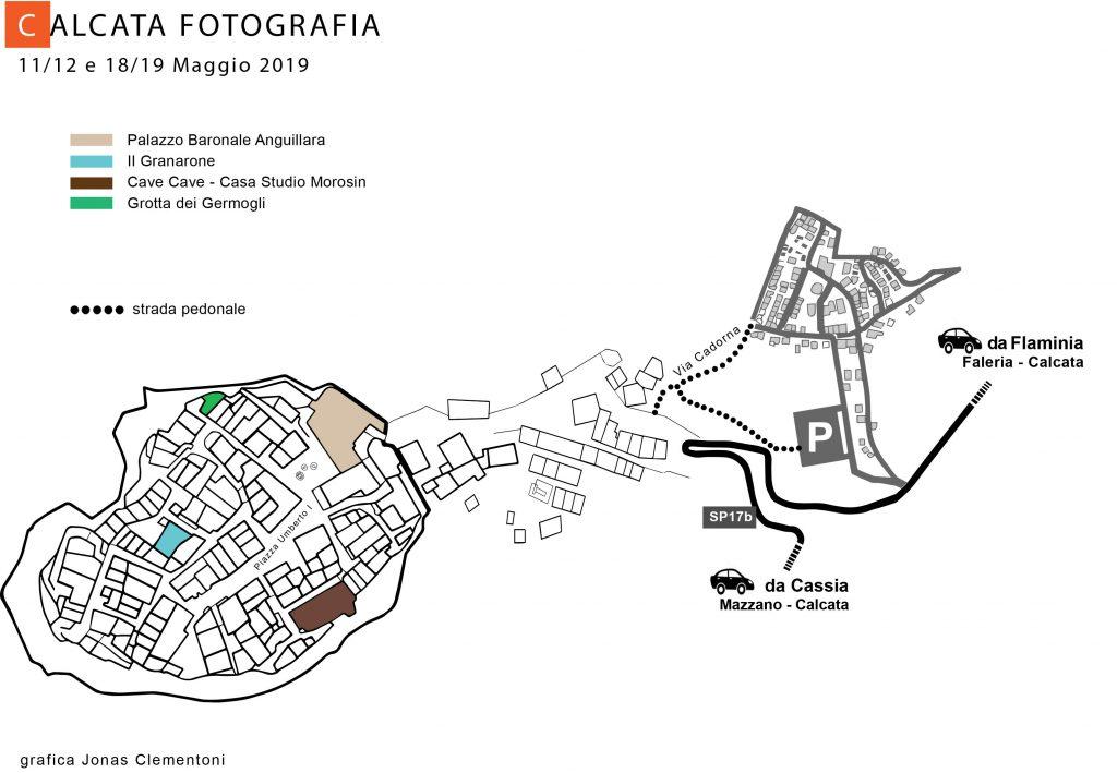 I luoghi degli eventi di Calcata Fotografia 2019